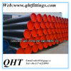 Black Coated with Plastic Caps A53 Alloy Seamless Steel Pipe