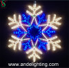 2D Waterproof Christmas Snowflake Motif Lights Decorations