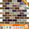 Strip Glass Mosaic and Stone Marble for Wall Background (M838003)