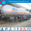 LPG Gas Trailer 60 Cbm LPG Tank Semi Trailers Nigeria ASME Semi Trailer