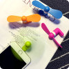 Wholesale Creative Portable Cooling Micro/Mini/OTG/2-in-1 USB Mobile/Cell Phone Electric Fan