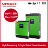 5kVA 48VDC Large Power Supply 220/230/240VAC Transformerless Solar Inverter with MPPT Controller 6PCS Parallel