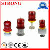 Red Color Tower Crane Solar Warning Light