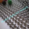New Condition Shining 8mm Silver Plated Rounded Metal Ball Chain
