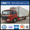 Foton 4X2 Cooling Van Trucks for Sale Refrigerator Box Truck