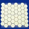 Chemshun Easy Installed Alumina Ceramic Hex Tile on Mat 300X300mm