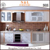 N & L White Solid Wood Shaker Door Kitchen Cabinet