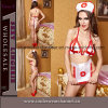 Sexy Women Nurse Lingerie Women Underwear (TEU937)