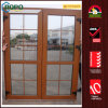 European Standard UPVC Double French Door with Grills Design
