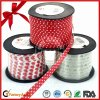 Red Dotted Halloween Decoration Ribbon