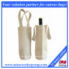 100% Cotton Recycled Wine Bag