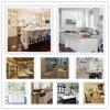 Quartz Kitchen Countertop (artificial marble and Qauartz white)
