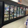 Upright Glass Door Refrigerator for Beverage Cooler