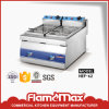 Stainless Steel 2-Tank 2 Basket Electric Fryer (HEF-62)