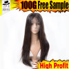 First Class 30 Inch Human Hair Wigs Full Silk Base Full Lace Wig