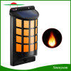 Solar Light Flickering Flame Effect Outdoor Waterproof Auto on/off Solar Powered Night Light for Garden Patio Deck Yard Fence Decoration