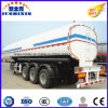 3 Axis 42000 Liters Carbon Steel Fuel Tanker Truck Semi Trailer with 1 Silo