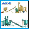 Complete Ring Die Rice Wheat Straw Pellet Machine Line