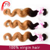Cheap Virgin Chinese Remy Hair Two Tone Human Hair Weave