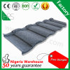 HPS Lightweight Roofing Materials Flat Metal Stone Coated Roof Tile