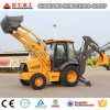 Wheel Backhoe Loader for Sale with 0.3m3 Digging Bucket
