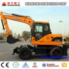 12ton Construction Wheel Excavator Machine Farming