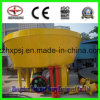 Two Roller Wet Pan Mill for Gold Ore Extraction