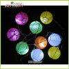 "3"" Multicolor Paper Lantern String Fairy Light Party Decoration"