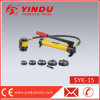15t Steel Plate Hydraulic Manual Punch (SYK-15)
