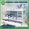 Pine Wood Single Bunk Bed with Trundle (WJZ-B716)