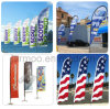 Outdoor Advertising Flying Flag Banner