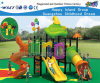 Flower Feature Outdoor Playground Equipment with Slide Hf-12602