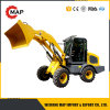 1.5t Hydraulic Mini Front Wheel Loader Euro 3 with CE