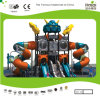 Kaiqi Cool Robot Themed Large Children′s Playground with Slides (KQ20069A)