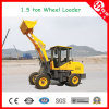 Zl15 1.5 High Efficiency Ton Wheel Loader with Fork (1500kg)