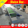 Sluice Box Carpet in Gold Panning Box, VAS Nomad Miner′s Moss -Sluice Box Carpeting