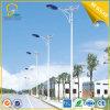 8mtrs Height 12hrs Lighting 80W LED Solar Road Lighting