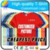 Customized Logo Cotton T-Shirts and Promotional Clothing