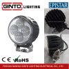 Round 4PCS Epistar Auto LED Work Light for Fork Lift Car Crane