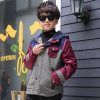 Four Color Two-Piece Winter Down Jacket for Boy