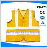 Reflective Waistcoat Safety Vest with High Reflective Tape