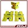 Plastic Adjustable Post Level with 3 Vials