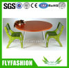 Wooden Popular Kids Study Table with Chairs (KF-07)