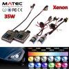 2017 New Brand Super Bright HID Xenon Kit 12V 24V 35W 55W HID H4 H7 LED Xenon