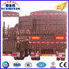 3 Axle Single or Double Tyre Fence Cargo Semi Trailer