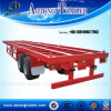 20ft Skeleton Container Semi Trailers for Sale