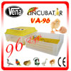 Hot Selling Capacity 96 Eggs Automatic Solar Incubator