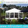 6X15m Transparent Sidewall Tent Small Family Party Tent for 75 Seaters