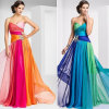 Sweetheart Long Masquerade Colorful Prom Dress New Fashion (CL157)