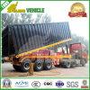 3 Axles 45ton Container Dumper Trailer